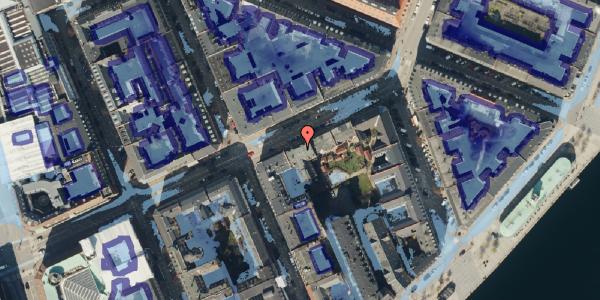 Ekstrem regn på Holbergsgade 16, kl. tv, 1057 København K