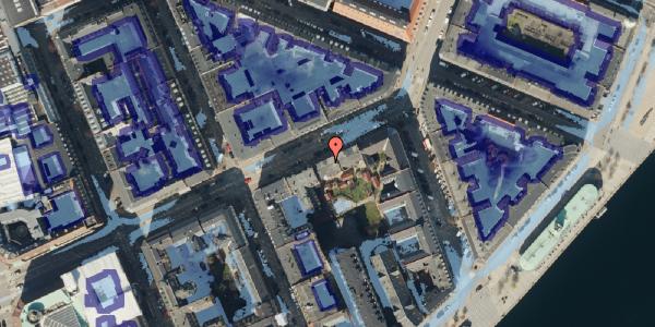 Ekstrem regn på Holbergsgade 18, 1. th, 1057 København K