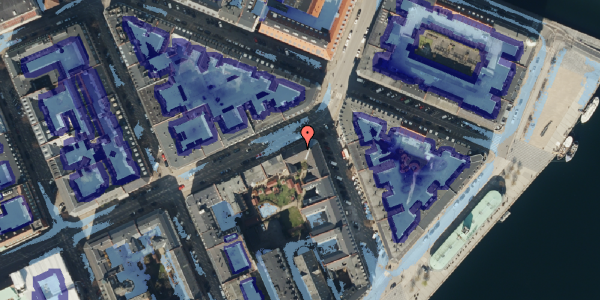Ekstrem regn på Holbergsgade 22, 1. th, 1057 København K