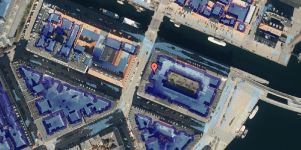 Ekstrem regn på Holbergsgade 28A, 3. th, 1057 København K