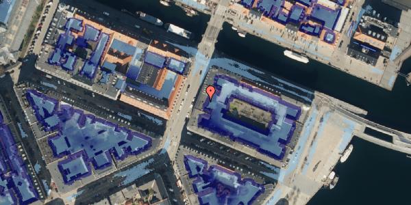 Ekstrem regn på Holbergsgade 28A, 4. tv, 1057 København K
