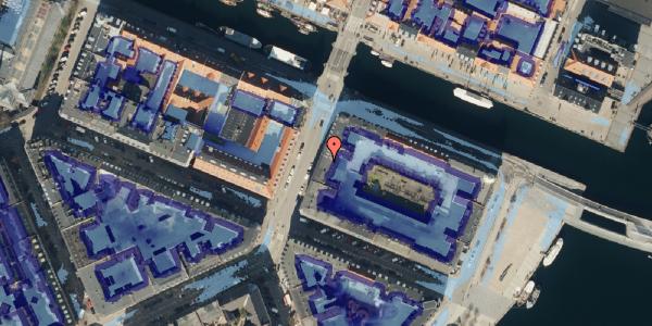 Ekstrem regn på Holbergsgade 28, kl. 1, 1057 København K
