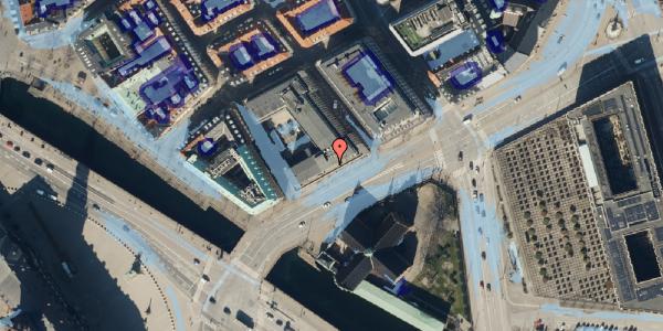 Ekstrem regn på Holmens Kanal 22, 2. , 1060 København K