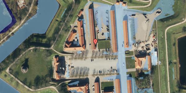 Ekstrem regn på Kastellet 62, 1. 203, 2100 København Ø