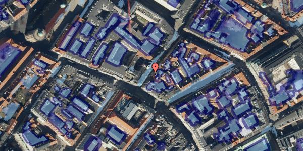 Ekstrem regn på Klareboderne 6, 4. th, 1115 København K