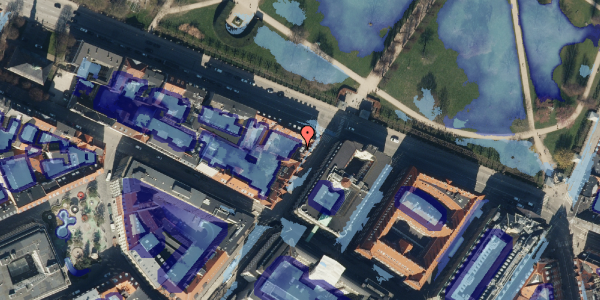 Ekstrem regn på Landemærket 55, 1119 København K