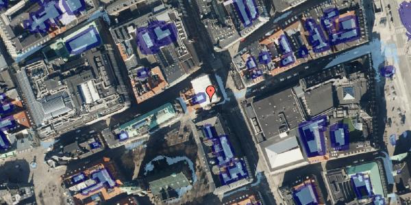 Ekstrem regn på Lille Kongensgade 34, kl. , 1074 København K
