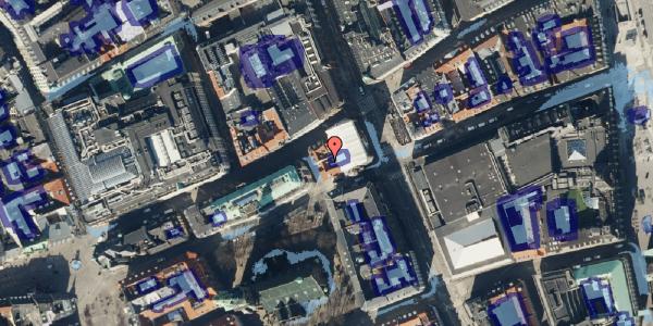 Ekstrem regn på Nikolaj Plads 3, kl. , 1067 København K