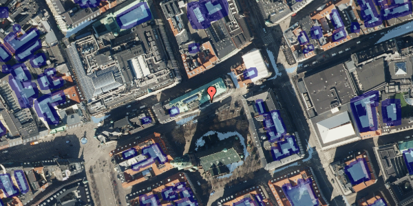 Ekstrem regn på Nikolaj Plads 6, 1. , 1067 København K