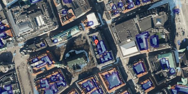 Ekstrem regn på Nikolaj Plads 7, 2. , 1067 København K