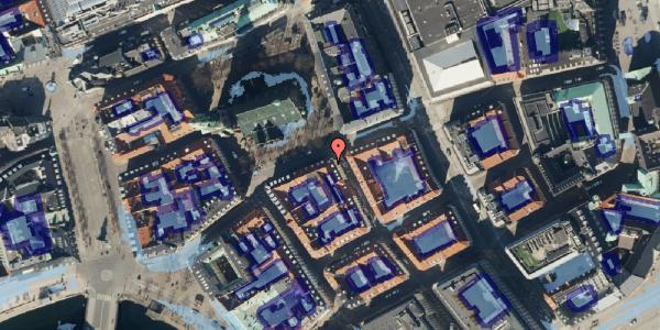 Ekstrem regn på Nikolaj Plads 23, 3. , 1067 København K