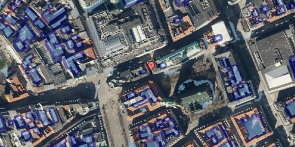 Ekstrem regn på Nikolaj Plads 24, 3. , 1067 København K