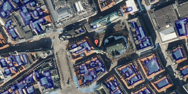 Ekstrem regn på Nikolaj Plads 26, st. , 1067 København K