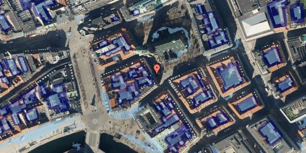 Ekstrem regn på Nikolaj Plads 32, 3. , 1067 København K