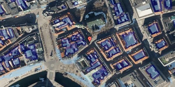 Ekstrem regn på Nikolaj Plads 34, kl. 13, 1067 København K