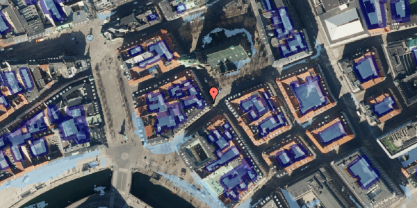 Ekstrem regn på Nikolaj Plads 34, 1. th, 1067 København K