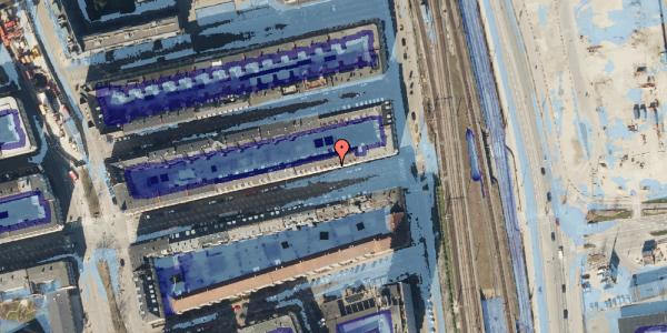 Ekstrem regn på Nordre Frihavnsgade 97, 3. , 2100 København Ø
