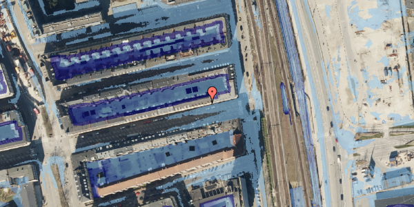 Ekstrem regn på Nordre Frihavnsgade 99, 1. th, 2100 København Ø