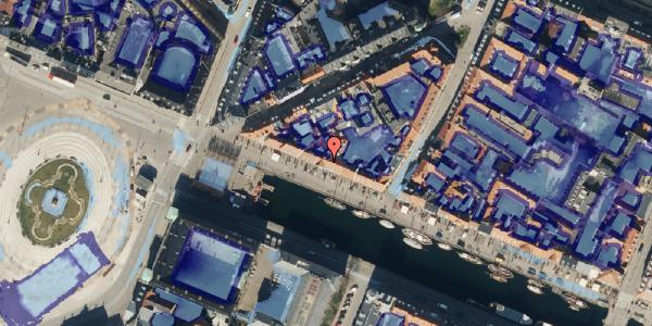 Ekstrem regn på Nyhavn 9, 1. , 1051 København K