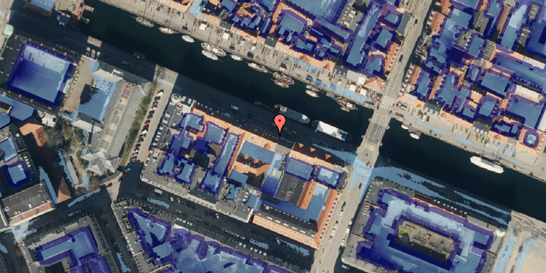 Ekstrem regn på Nyhavn 16, 3. , 1051 København K