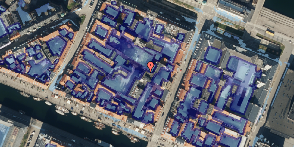 Ekstrem regn på Nyhavn 31F, 2. mf, 1051 København K