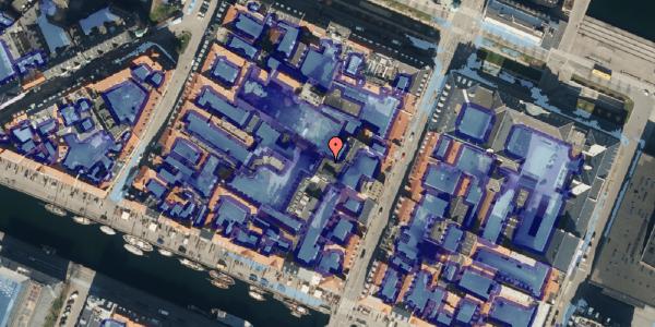 Ekstrem regn på Nyhavn 31F, 3. mf, 1051 København K