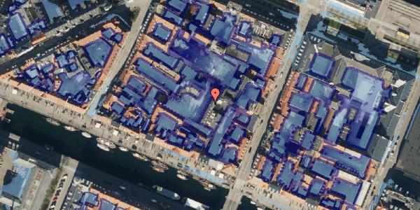 Ekstrem regn på Nyhavn 31G, 1. , 1051 København K