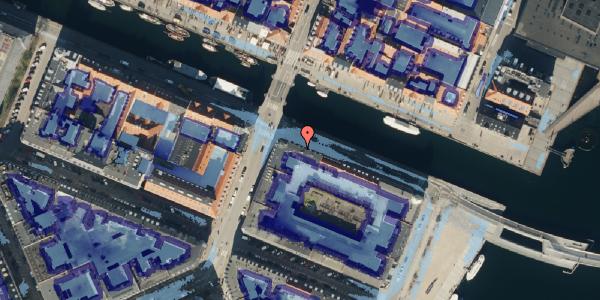 Ekstrem regn på Nyhavn 38, 3. th, 1051 København K