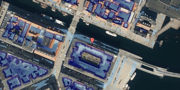 Ekstrem regn på Nyhavn 40, kl. 1, 1051 København K