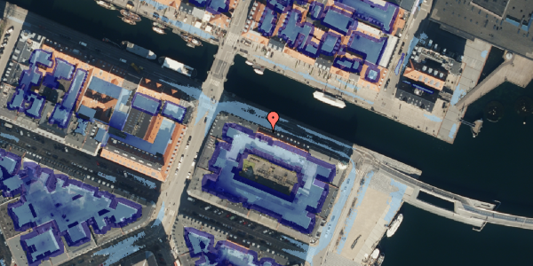 Ekstrem regn på Nyhavn 40, st. , 1051 København K