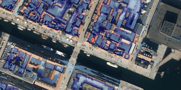 Ekstrem regn på Nyhavn 51, kl. , 1051 København K
