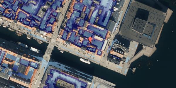Ekstrem regn på Nyhavn 63B, st. , 1051 København K