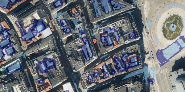 Ekstrem regn på Ny Østergade 3, 6. , 1101 København K