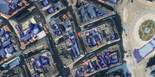 Ekstrem regn på Ny Østergade 5, kl. th, 1101 København K