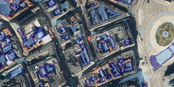 Ekstrem regn på Ny Østergade 5, 4. , 1101 København K