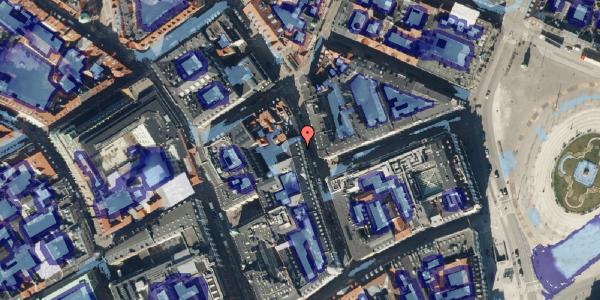 Ekstrem regn på Ny Østergade 9, 3. , 1101 København K
