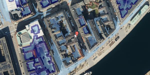 Ekstrem regn på Peder Skrams Gade 24, 1054 København K