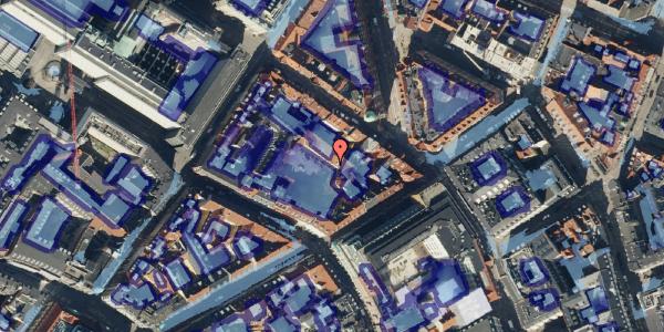 Ekstrem regn på Pilestræde 40C, st. th, 1112 København K
