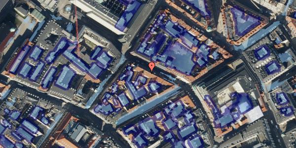 Ekstrem regn på Pilestræde 41, 3. , 1112 København K