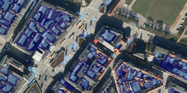 Ekstrem regn på Tornebuskegade 9, 3. , 1131 København K