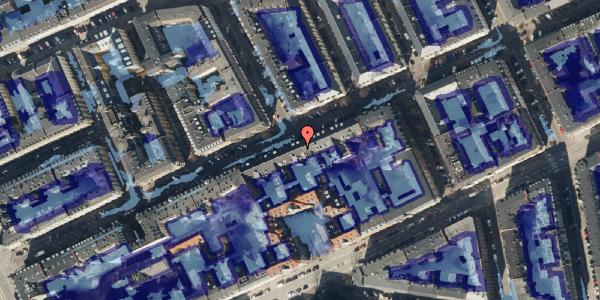 Ekstrem regn på Willemoesgade 24, 3. tv, 2100 København Ø