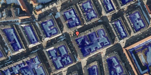 Ekstrem regn på Willemoesgade 50, 4. , 2100 København Ø