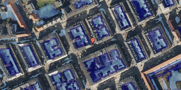 Ekstrem regn på Willemoesgade 53, kl. tv, 2100 København Ø