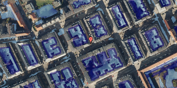 Ekstrem regn på Willemoesgade 53, st. tv, 2100 København Ø