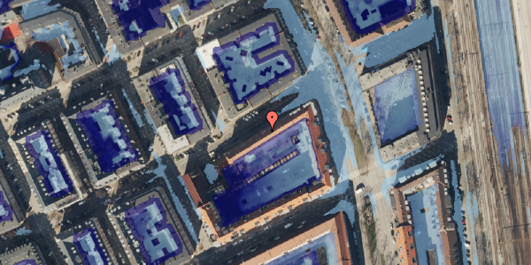 Ekstrem regn på Willemoesgade 72, st. 4, 2100 København Ø