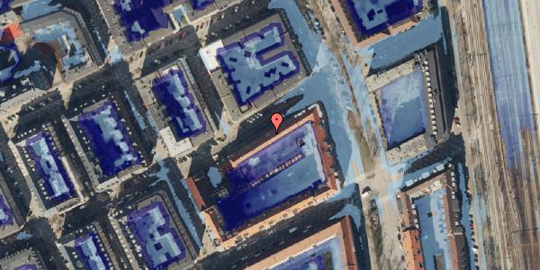 Ekstrem regn på Willemoesgade 72, 1. 1, 2100 København Ø