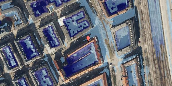 Ekstrem regn på Willemoesgade 74, 3. 4, 2100 København Ø