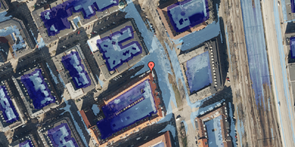 Ekstrem regn på Willemoesgade 76, st. tv, 2100 København Ø