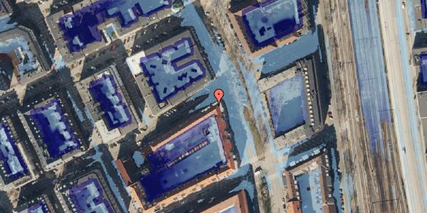 Ekstrem regn på Willemoesgade 76, 2. th, 2100 København Ø