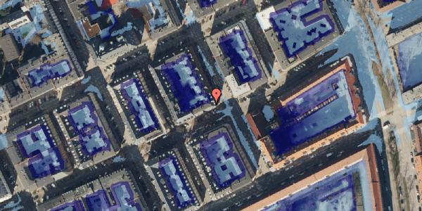 Ekstrem regn på Willemoesgade 79, 4. , 2100 København Ø